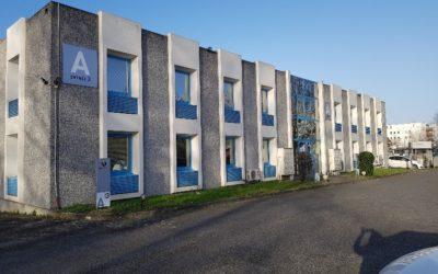 RAMONVILLE – 20 rue Hermès- Parc technologique du Canal / 4 bureaux – 84m²